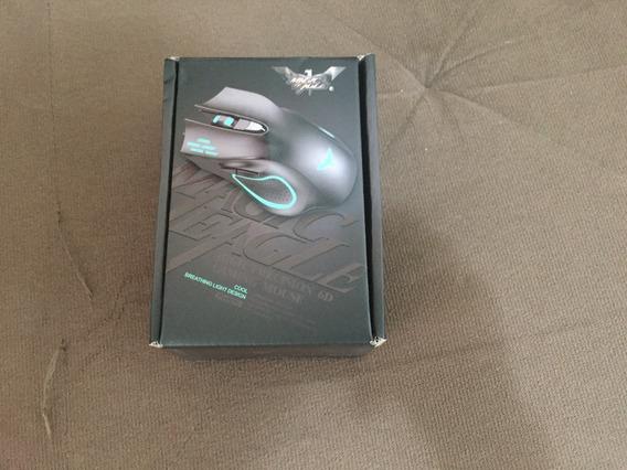 Mouse Gamer Havit Magic Eagle Optico 2.400dpi Preto