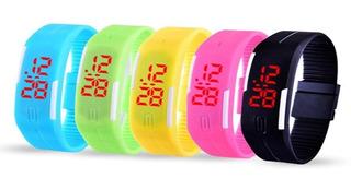 Reloj Led Colores