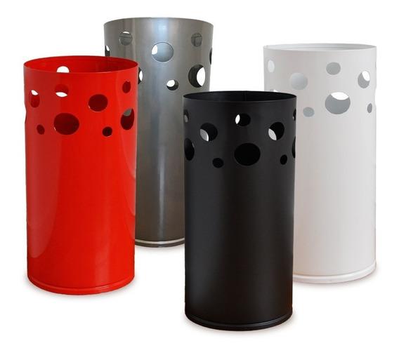 Paraguero De Zinc Moderno Paraguas 4 Colores Oficina M 12c