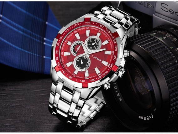 Relógio Curren Masculino Promoção Pronta Entrega Barato Luxo