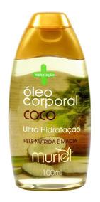 Óleo Corporal Muriel De Coco Ultra Hidratação Nutrição100ml