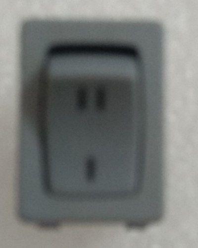 Interruptor Chave Ii / I Cinza Secador Gloss Taiff-original