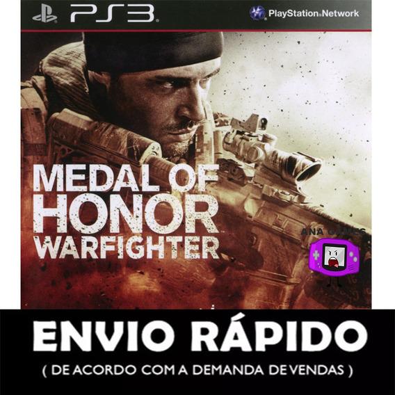 Medal Of Honor Warfighter Ps3 - Jogo Digital