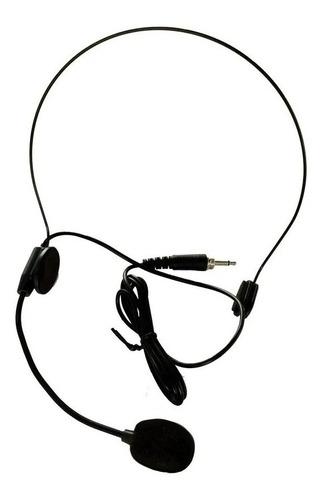 Microfono Condensador Vincha Conector Rosca Externa Gga100u