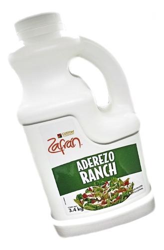 Aderezo Ranch Zafran En Sobres De 28g Caja 180 Pzs