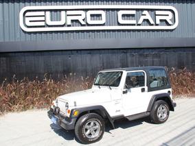Raro: Jeep Wrangler Tj 4.0 Sport Aut. 2p (câmbio Manual)