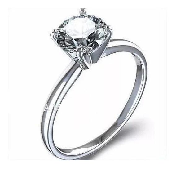 Anillo Compromiso Diamante Natural .35ct Gh Vs 14kt 01d