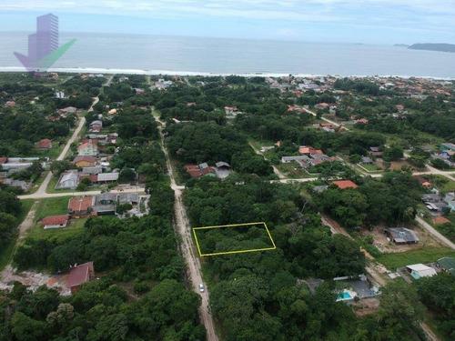 Terreno À Venda, 384 M² Por R$ 55.000,00 - Praia Do Imperador - Itapoá/sc - Te0801