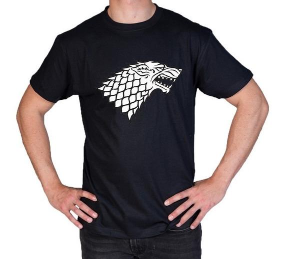 Camiseta Estampada Stark Game Of Thrones M1