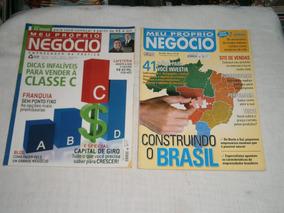 Meu Proprio Negocio - Pacote C/ 12 Revistas Por R$ 20,00