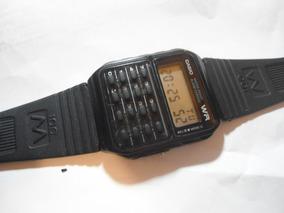 Relógio Casio Wr Calculadora Antigo