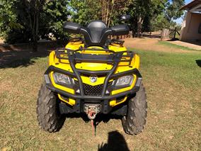 Quadriciclo Amarelo Can-am 400 Cc. Acompanha Carreta