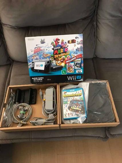 Nintendo Wii U Seminovo Desb Na Caixa, P/ Pessoas Exigentes