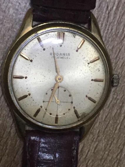 Relógio Original Masculino Antigo Rodania