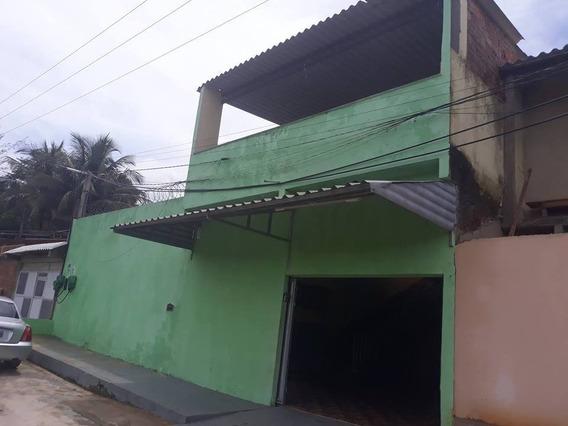 Salão De Festas Com Piscina 2 Banheiros Churrasqueira + Casa