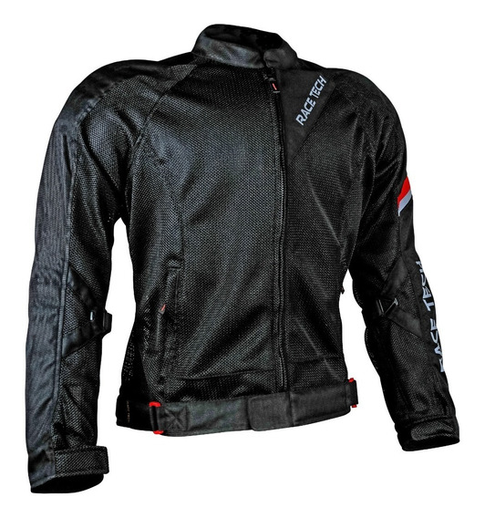 Jaqueta Para Moto Race Tech Ventilada Air Fluid