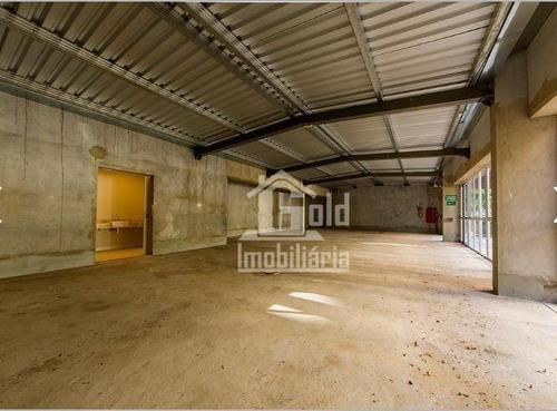 Salão Para Alugar, 360 M² Por R$ 20.000/mês - Bosque Das Juritis - Ribeirão Preto/sp - Sl0221