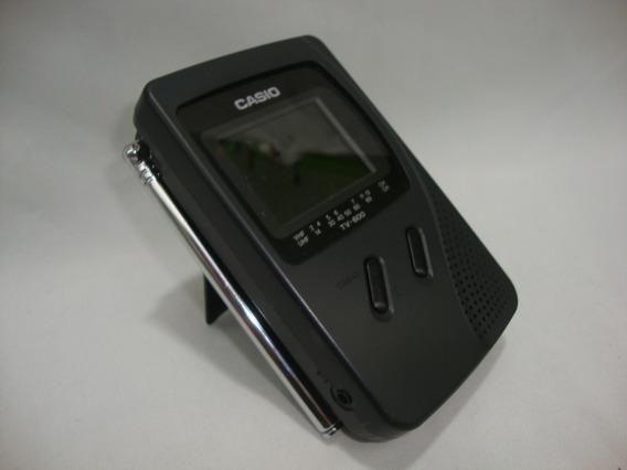 Mini Tv Casio Televisão Antiga Miniatura