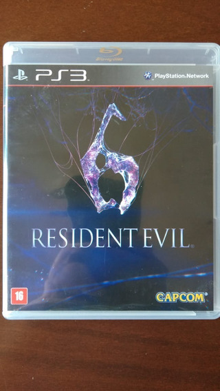 Resident Evil 6 - Mídia Física Ps3