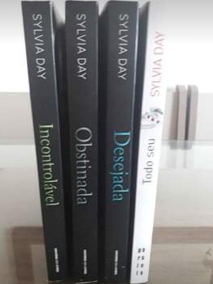 Lote Com 7 Livros (sylvia Day E Cinquenta Tons De Cinza)
