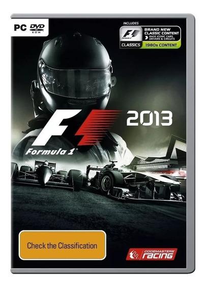 Formula 1 2013 Para Pc - Novo Lacrado