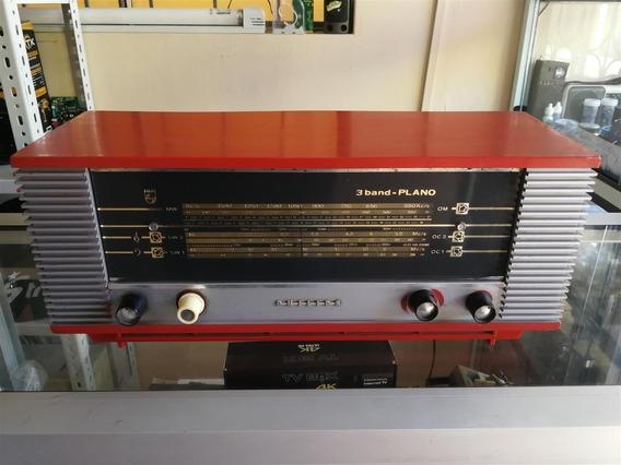 Radio Antiguo Philips 22rb365 Válvulas De 1966 Holland
