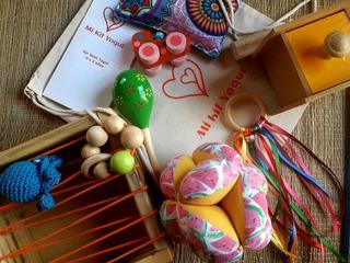 Kit Bebé Montessori Waldorf Pikler 0 A 2 Años