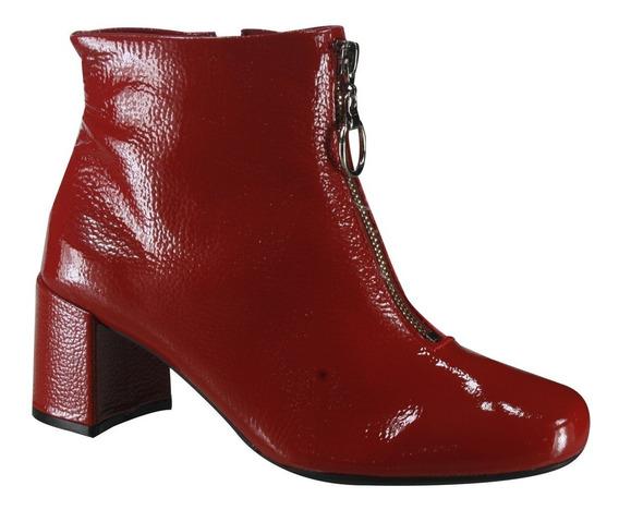 Bota Feminina Usaflex Ankle Boot Z4207/3   Katy Calçados