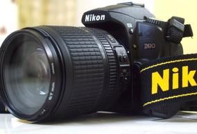 Câmera Fotográfica Nikon D90 + Lente 18-105mm + Case