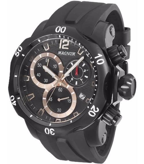 Relógio Magnum Masculino Ma33755p Original C/ Nota