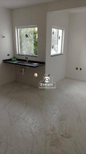 Cobertura Com 2 Dormitórios À Venda, 92 M² Por R$ 331.000,00 - Parque Das Nações - Santo André/sp - Co11652