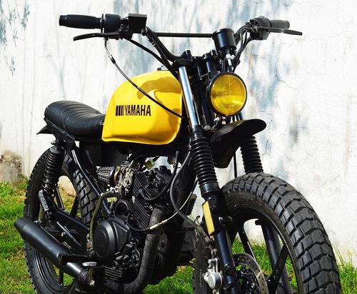 Cafe Racer Scrambler Tracker Suzuki Yamaha Honda Bobber 125c