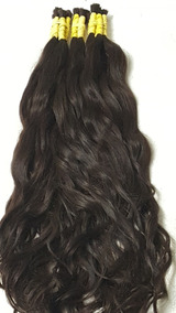Cabelo Ondulado 70/75cm Humano Aplique Mega Hair -50gr