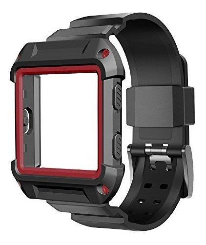Funda Umtele Para Fitbit Blaze Accesorio Rugged Pro Funda P