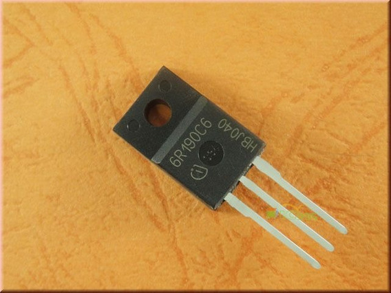 Transistor 6r190c6 - 6r190 - 190c6