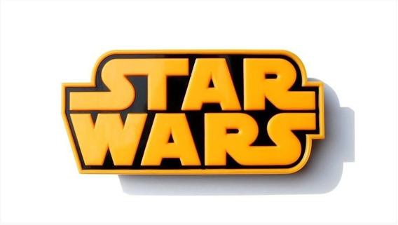 Luminária Star Wars Logo 3d Light Fx