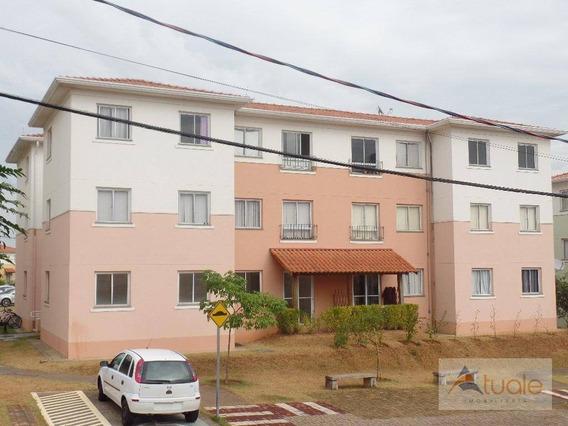 Apartamento 3 Dormitórios À Venda, 66 M², Villa Flora, Hortolândia/sp. - Ap6360