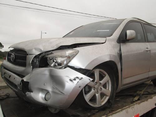 Sucata Toyota Rav 4 2008 Para Retirada De Peças