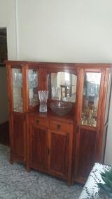 Cristaleira / Sala Jantar / Antiga E Rara Anos 30