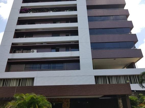 Apartamento Com 3 Suites À Venda, 185 M² Por R$ 1.300.000 - Torre - Recife/pe - Ap2072