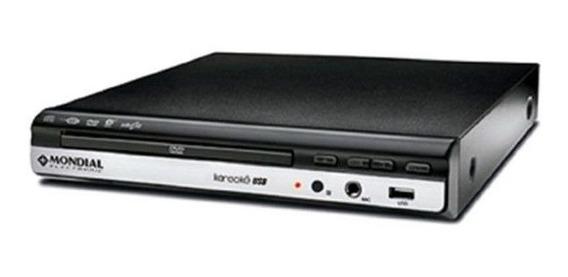 Dvd Player Karaoke Mondial Entrada Usb Fnc Ripping Copy D-15
