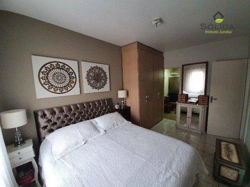 Imagem 1 de 19 de Excelente Apartamento A Venda No Condominio Residencial Portal Pacaembu Em Jundiai Sp. - Ap1187