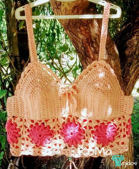 Top Playa Crochet