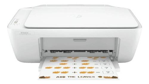 Impresora a color multifunción HP Deskjet Ink Advantage 2374 blanca 100V/240V