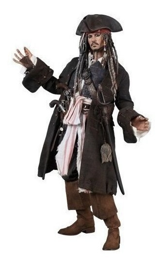 Dx06 Jack Sparrow Hot Toys Dead Men Tell - Piratas Do Caribe