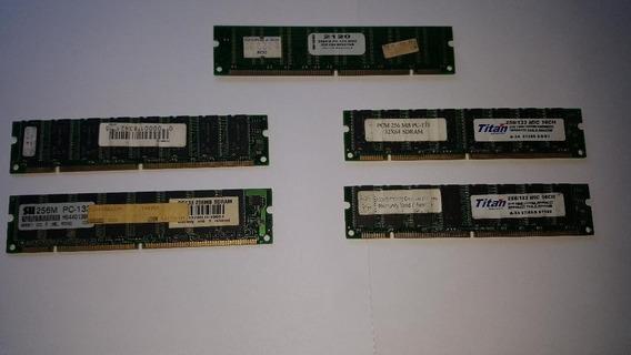 Memorias Dimm 256mb - Pc133 - Funcionando Perfectamente