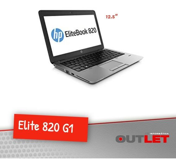 Notebook Hp Elitebook 820 G1 Profissional I5 8gb Ssd 240