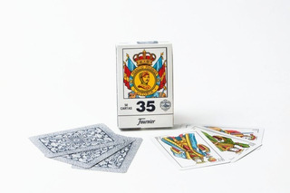 Naipes Cartas Españolas Fournier 35d 50 Cartas