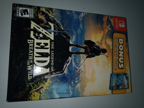 Zelda Botw Edição Especial Switch