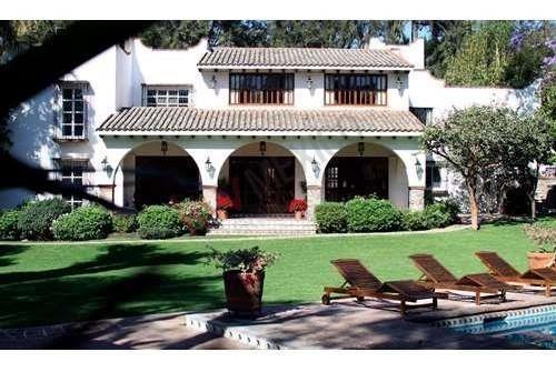 Residencia En Venta, Rancho Cortes, Cuernavaca, Morelos